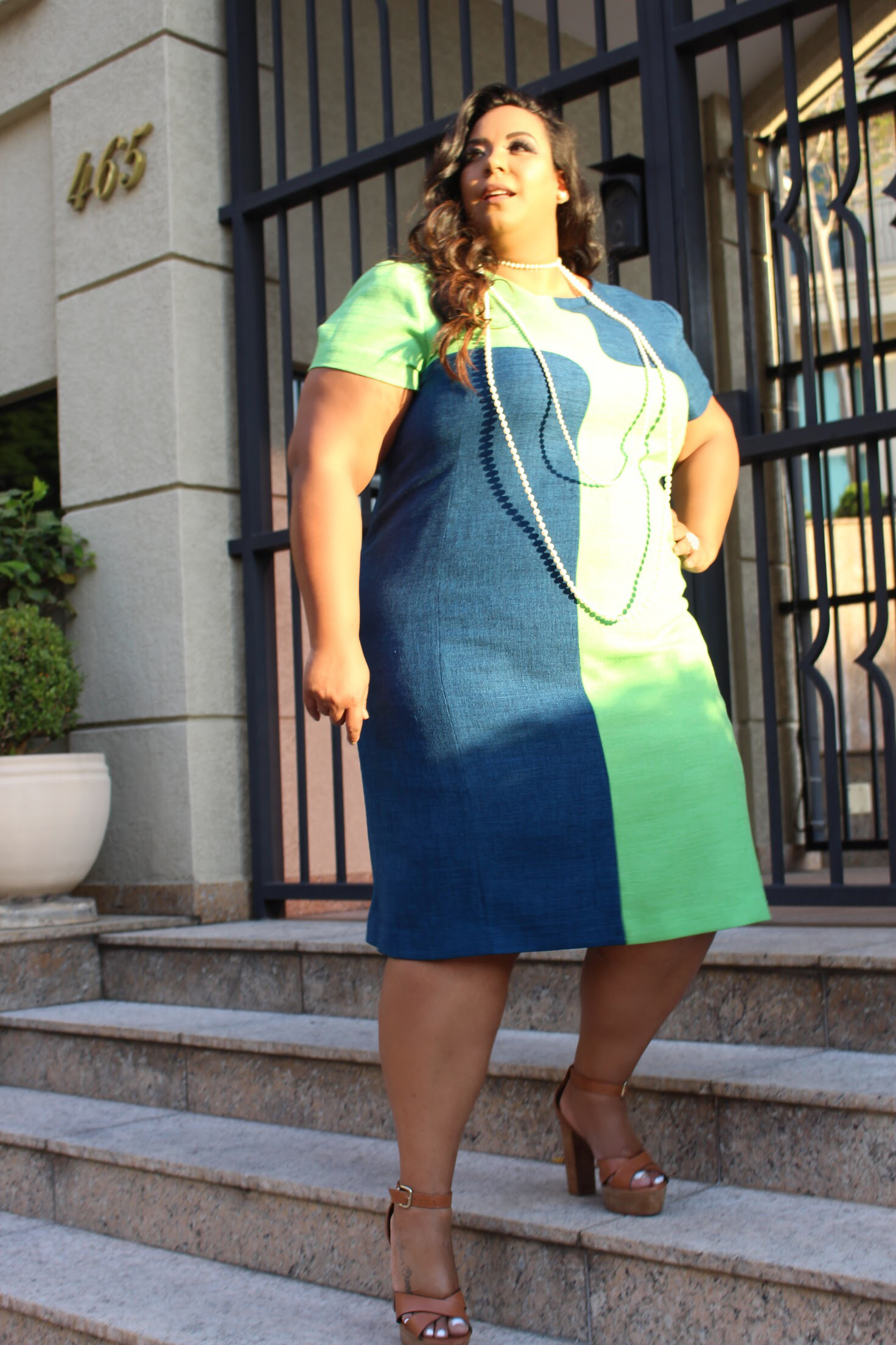 Look Do Dia Plus Size Vestido Tubinho Plus Size Rudz