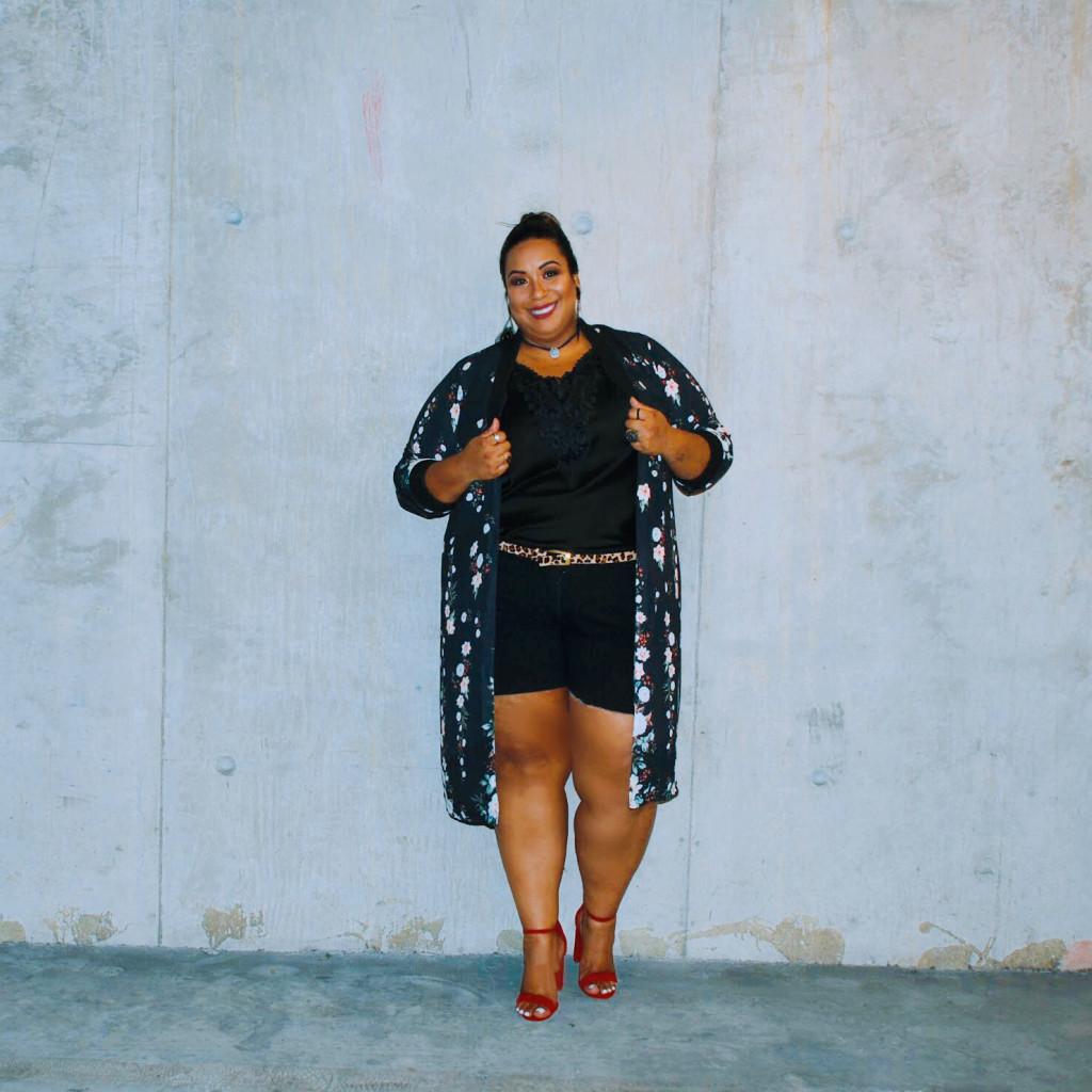Kimono plus size