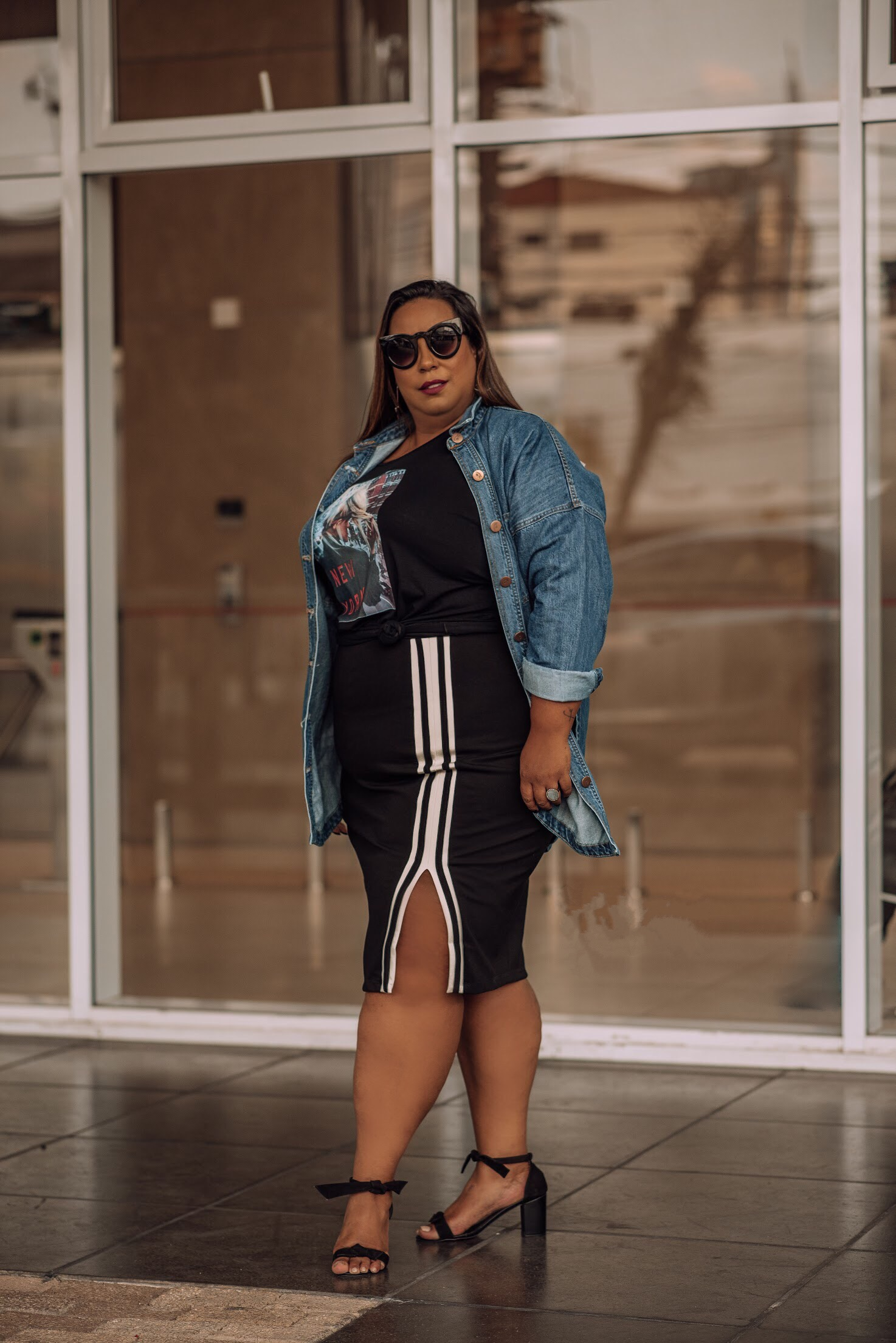 look esporte fashion plus size