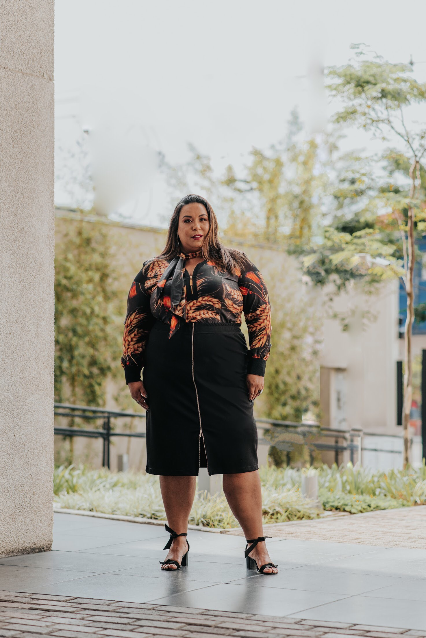 Blogueira Plus Size Elegance All Curves