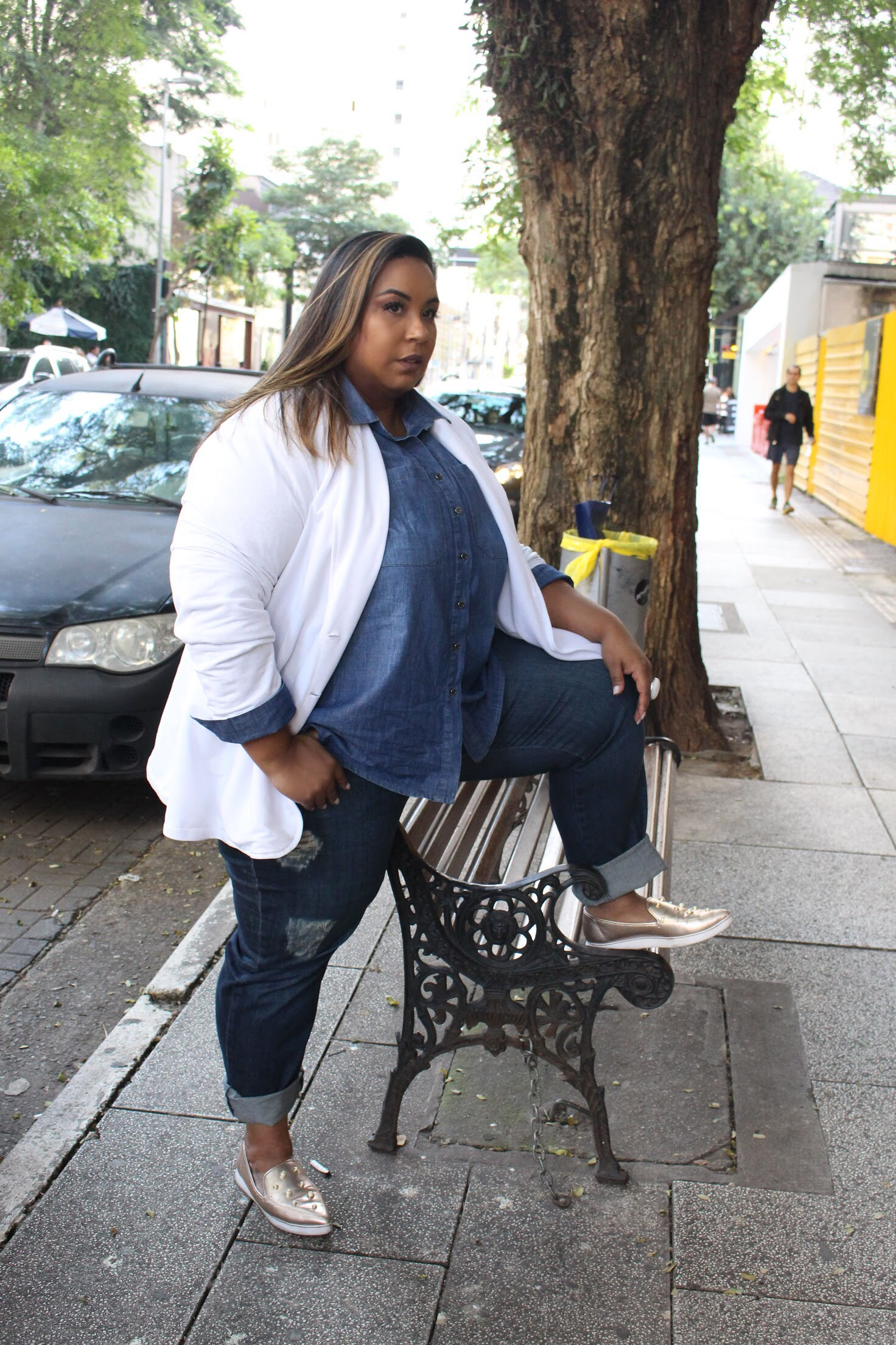 look do dia plus size Dani Rudz