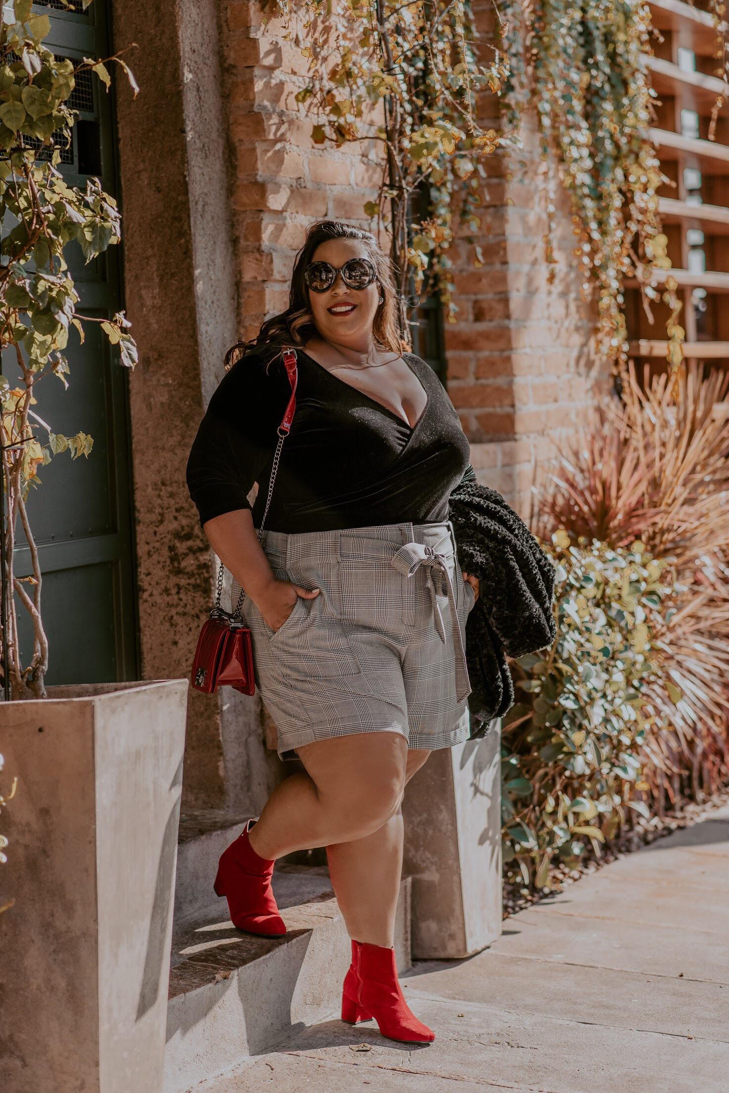Look Inverno Plus Size - Dani Rudz