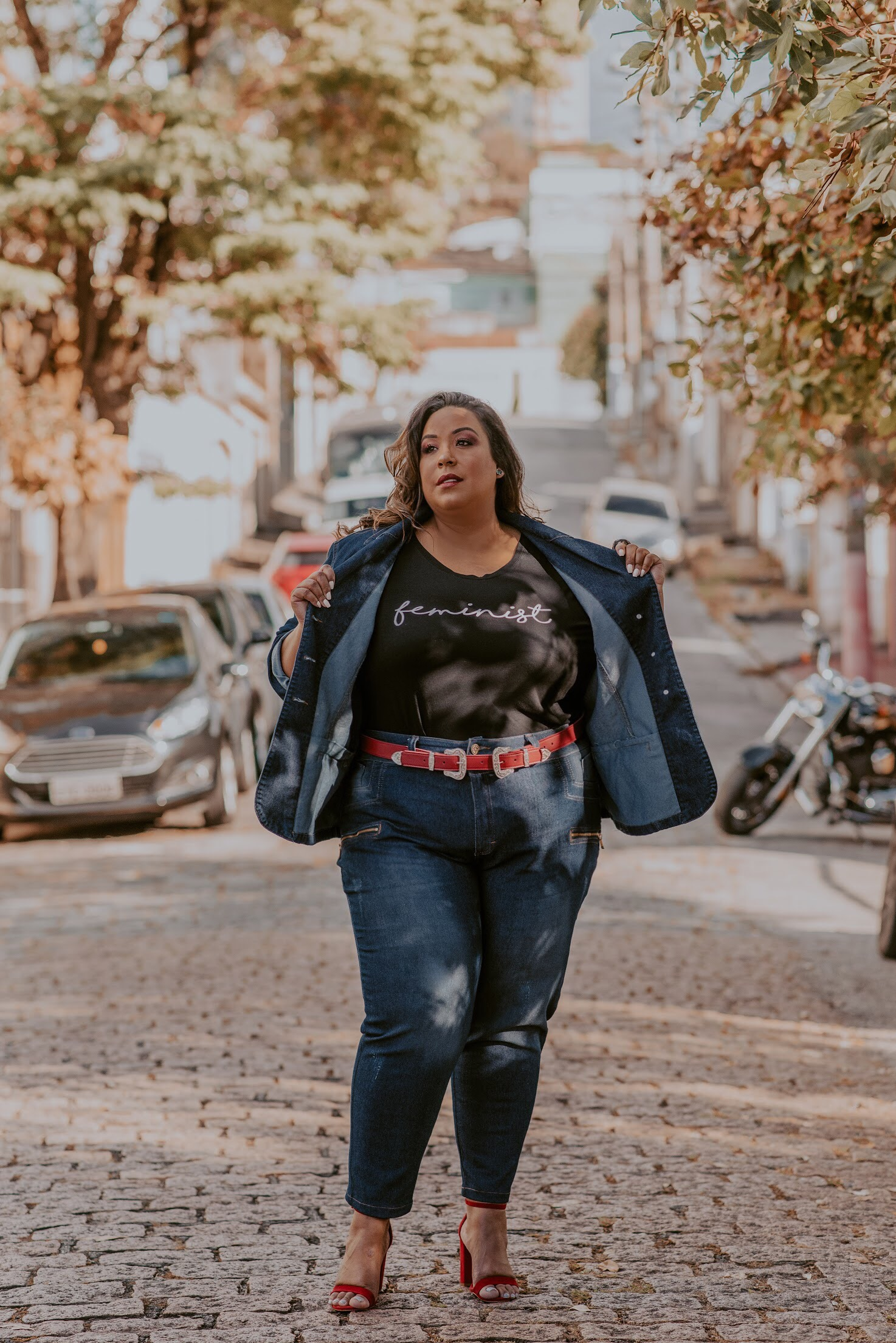 look do dia plus size - t-shirt - Dani Rudz