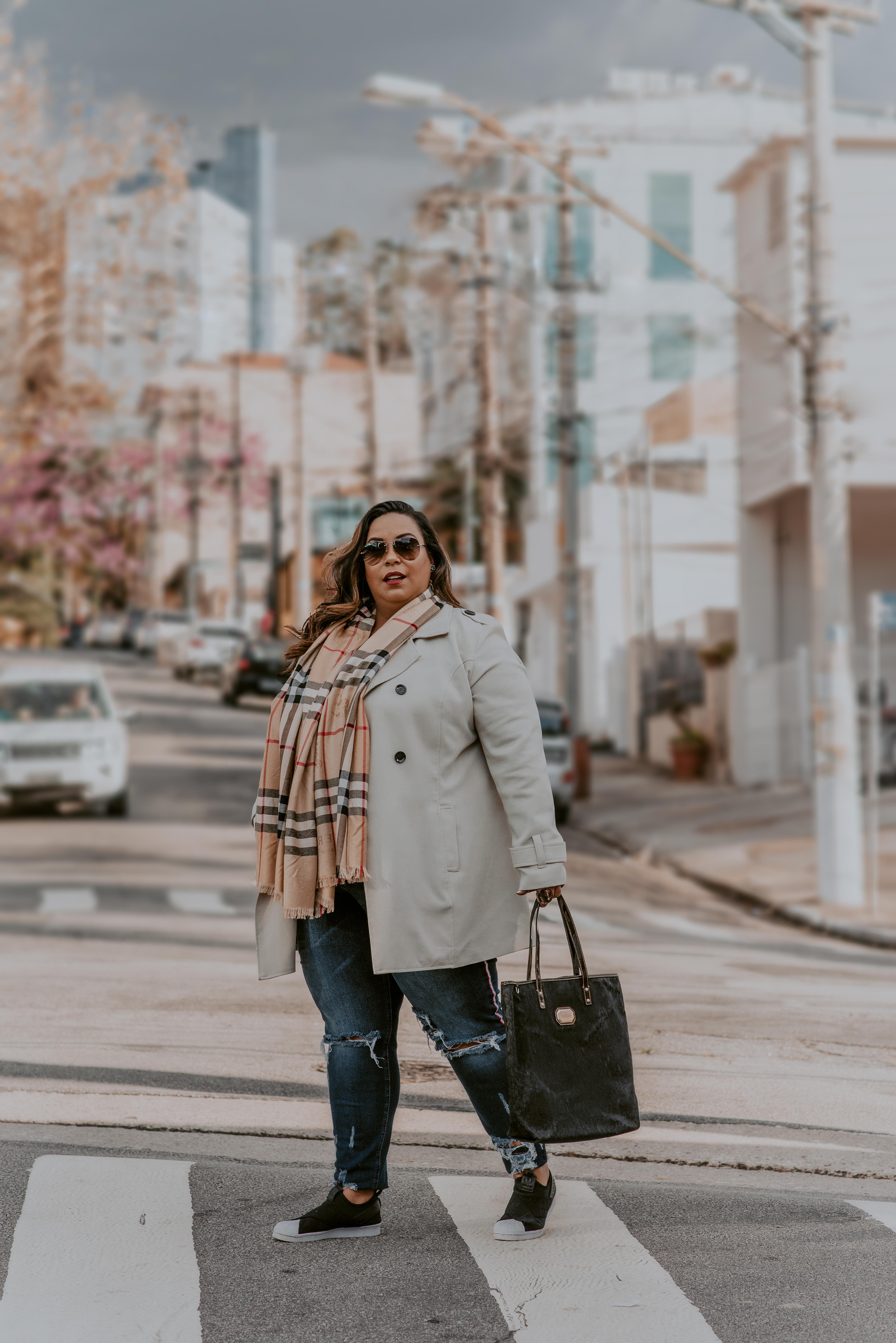 Blogueira Plus Size - Look Básico
