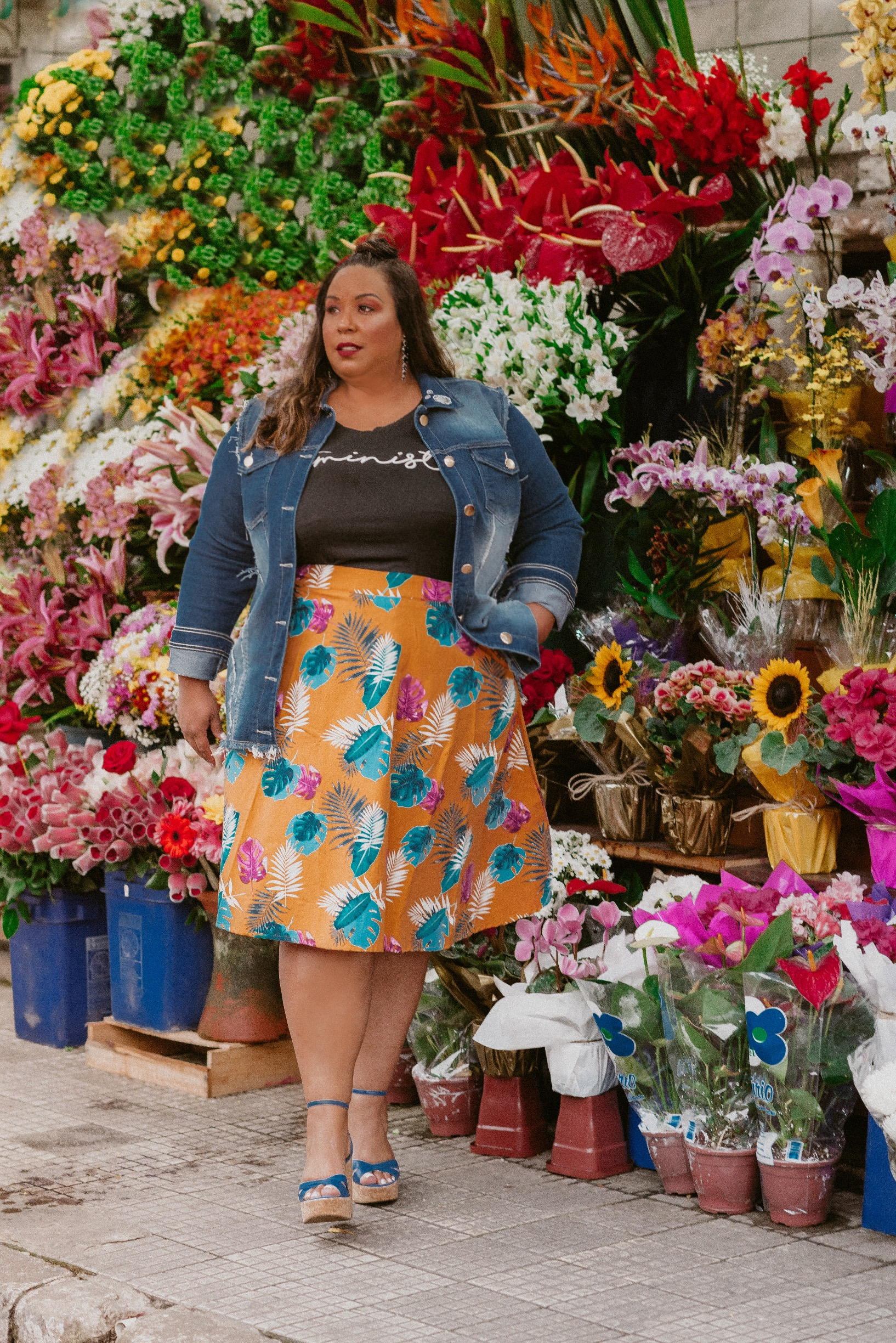 Dani Rudz - Look do Dia Plus Size