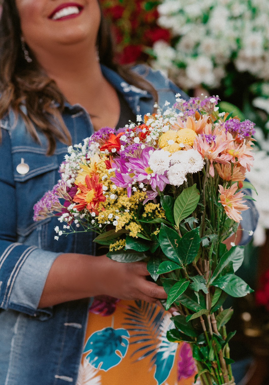Dani Rudz - Moda Plus Size - Estampa Floral
